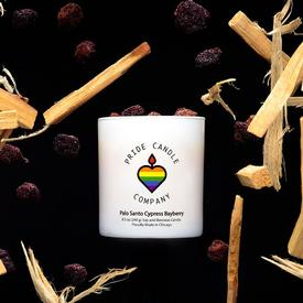 Palo Santo Cypress Bayberry Candle
