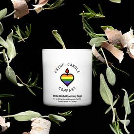 White Birch Rosemary Sage Candle