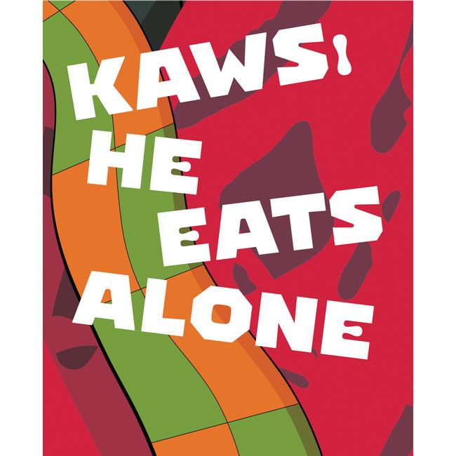 Kaws : He Eats Alone