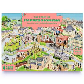 The Story Of Impressionism Puzzle