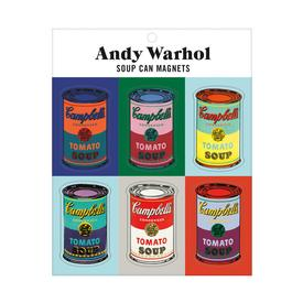 Andy Warhol Soup Can Magnet Set