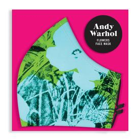 Andy Warhol Flowers Face Mask
