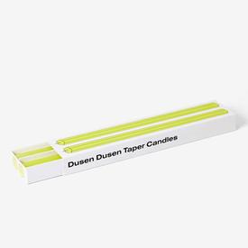 Taper Candles Set of 2 - Yellow YELLOW