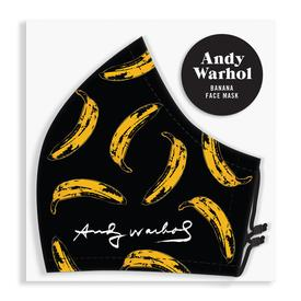 Andy Warhol Banana Face Mask