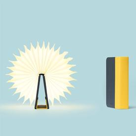 Lito Mini Lamp - Yellow/Navy