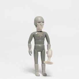 Daniel Clowes The Death Ray Doll Andy - Black and White BLACK_WHITE