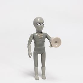 Daniel Clowes The Death Ray Doll Hero - Black and White - 20% off BLACK_WHITE