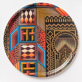 Edie Fake The T Room Round Tray