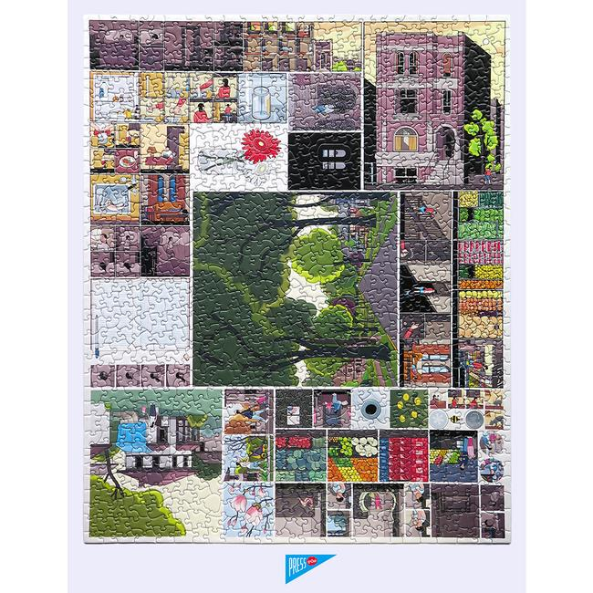 Chris Ware Building Stories Jigsaw Puzzle Pre- Order