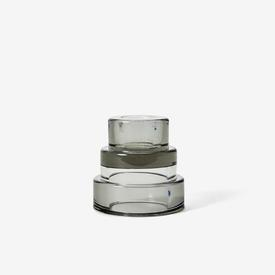 Terrace Candle Holder - Grey GREY