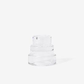 Terrace Candle Holder - Clear CLEAR