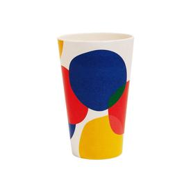 Bamboo Cup Set of 4 - Blots MULTI