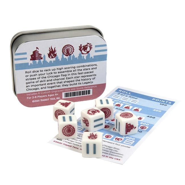 Legacy : The Chicago Flag Dice Game