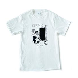 Charles Johnson Signed Life As I See It T Shirt WHITE