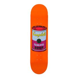Andy Warhol Campbell's Soup Skate Deck - Purple