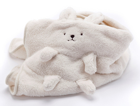 Bunny Rabbit Blanket WHITE