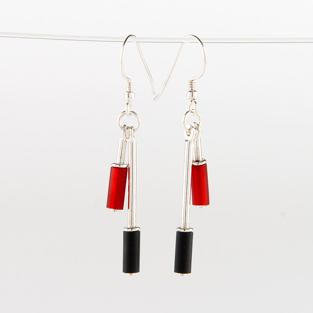 Mixxy- Matchy Yin Yang Drop Earrings Set
