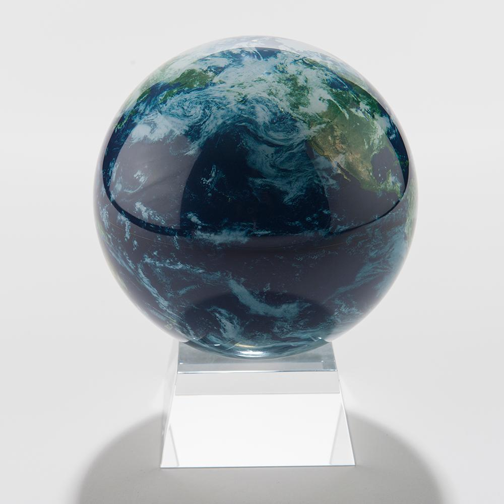 Spinning Solar Earth Globe