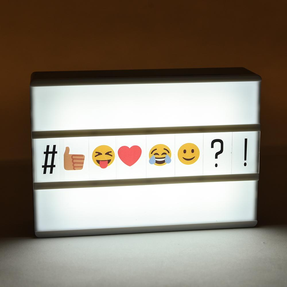 Mini Marquee Light Box