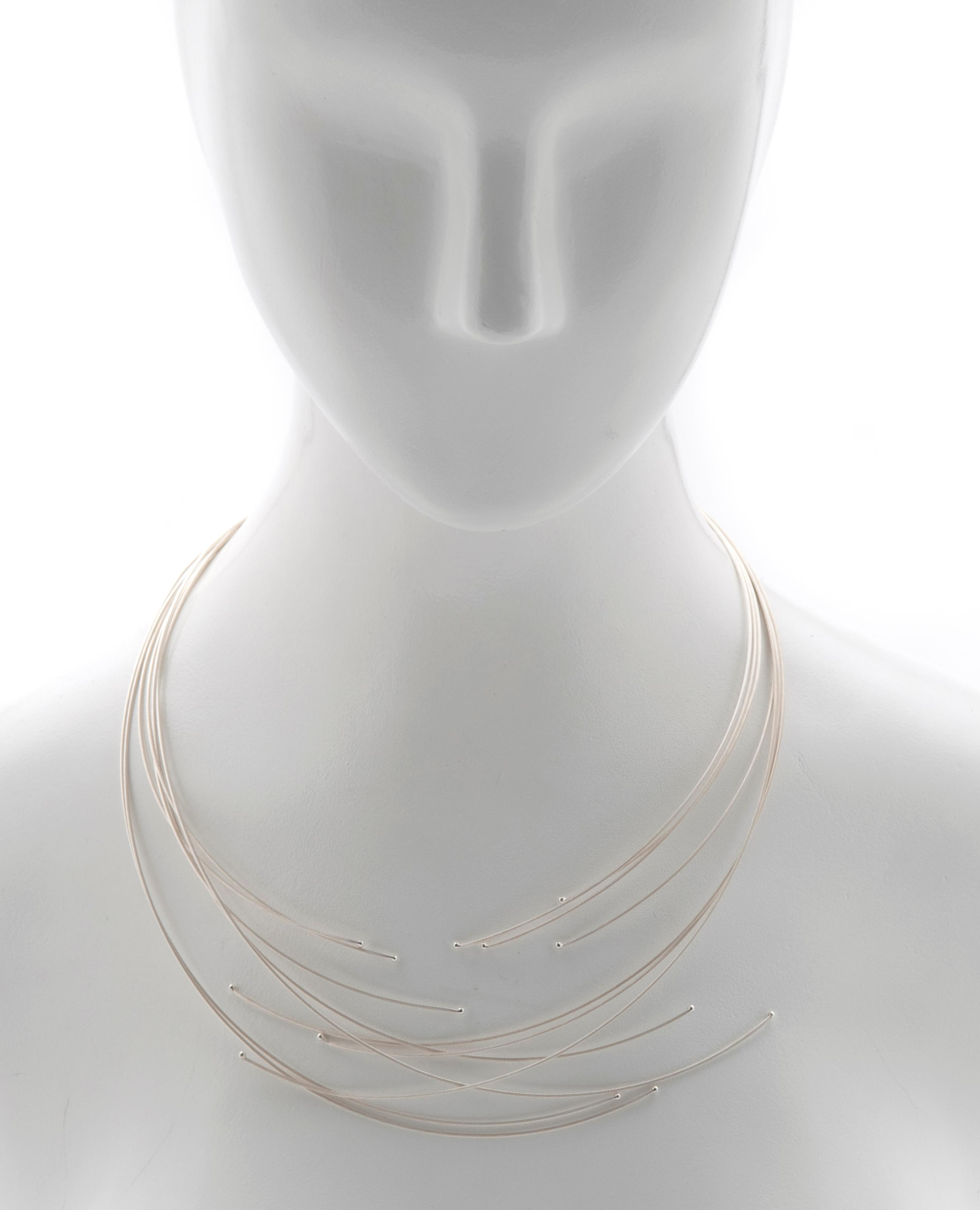 Seven Line Cable Necklace