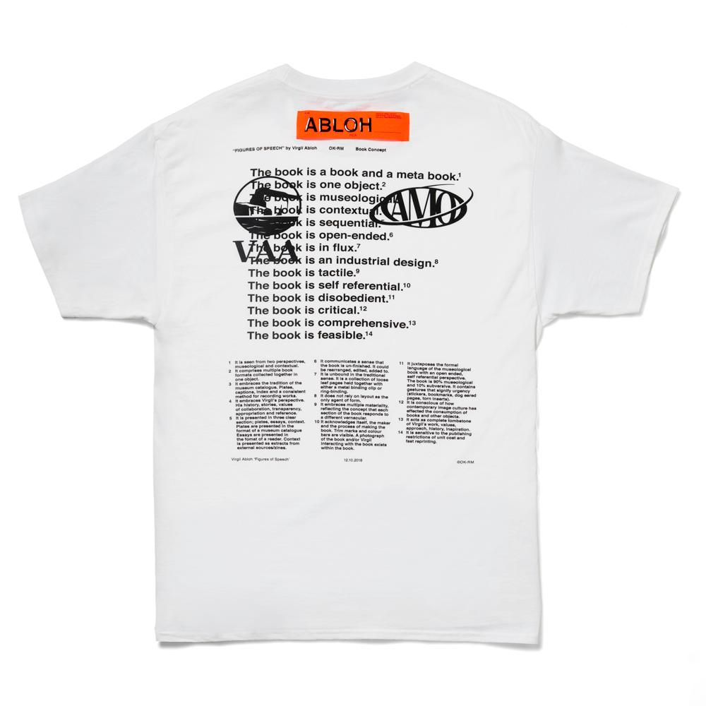 MCA Chicago Store | Virgil Abloh MCA FOS Lines T-Shirt