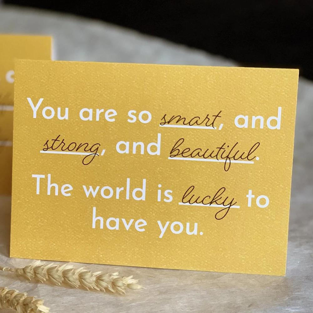 Affirmation Greeting Card