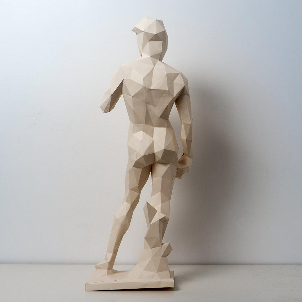 David Paper Sculpture Kit