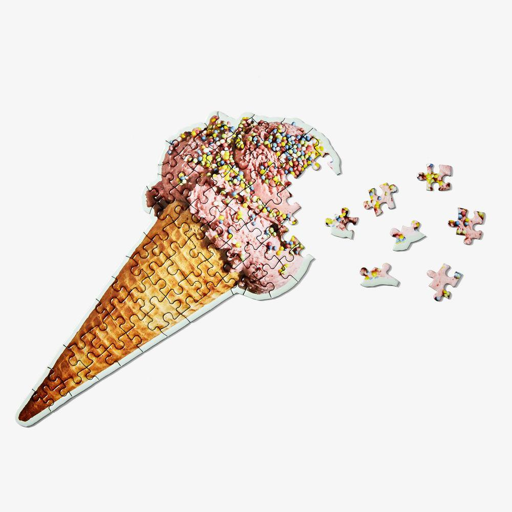 Strawberry Ice Cream Cone Puzzle