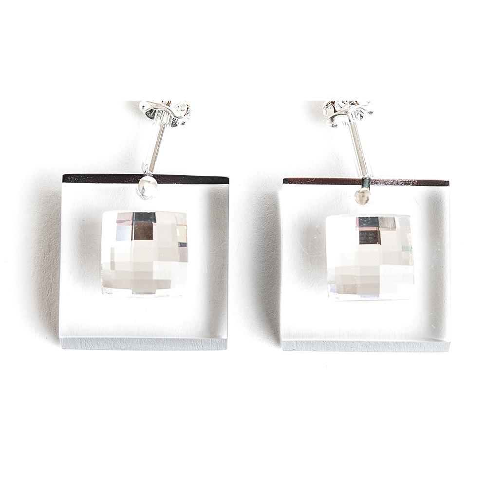 Lucite Glam Earrings