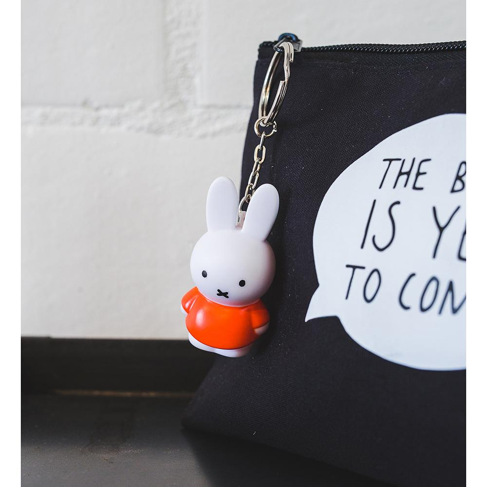 Miffy Keychain Red