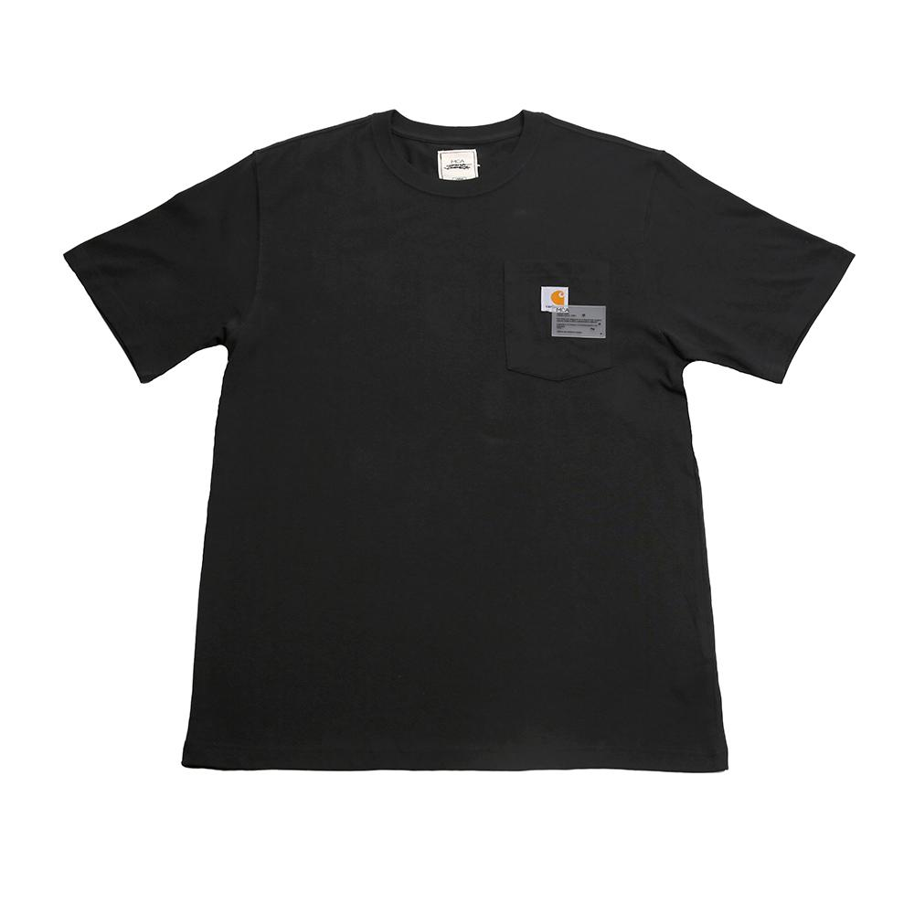 Joshua Vides X Mca Paint Crew Pocket T- Shirt - Black