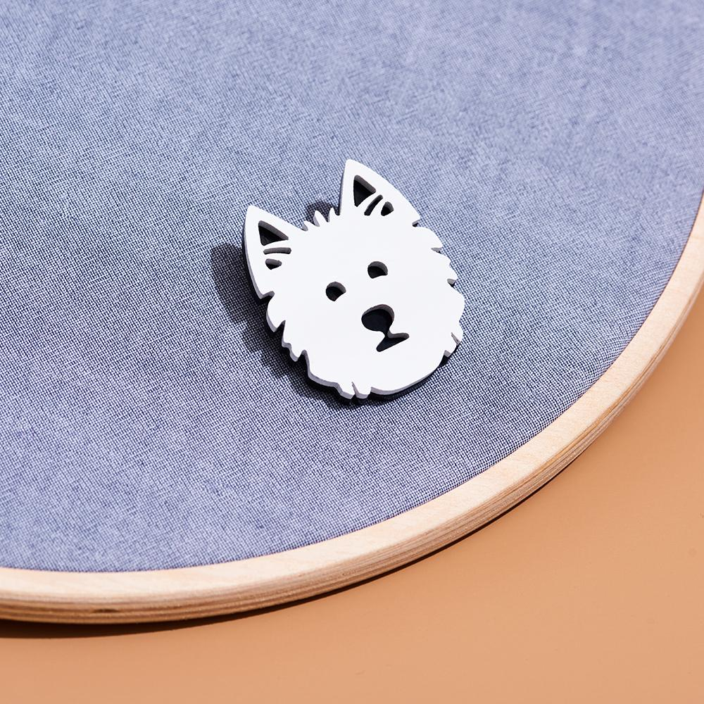 West Terrier Pin