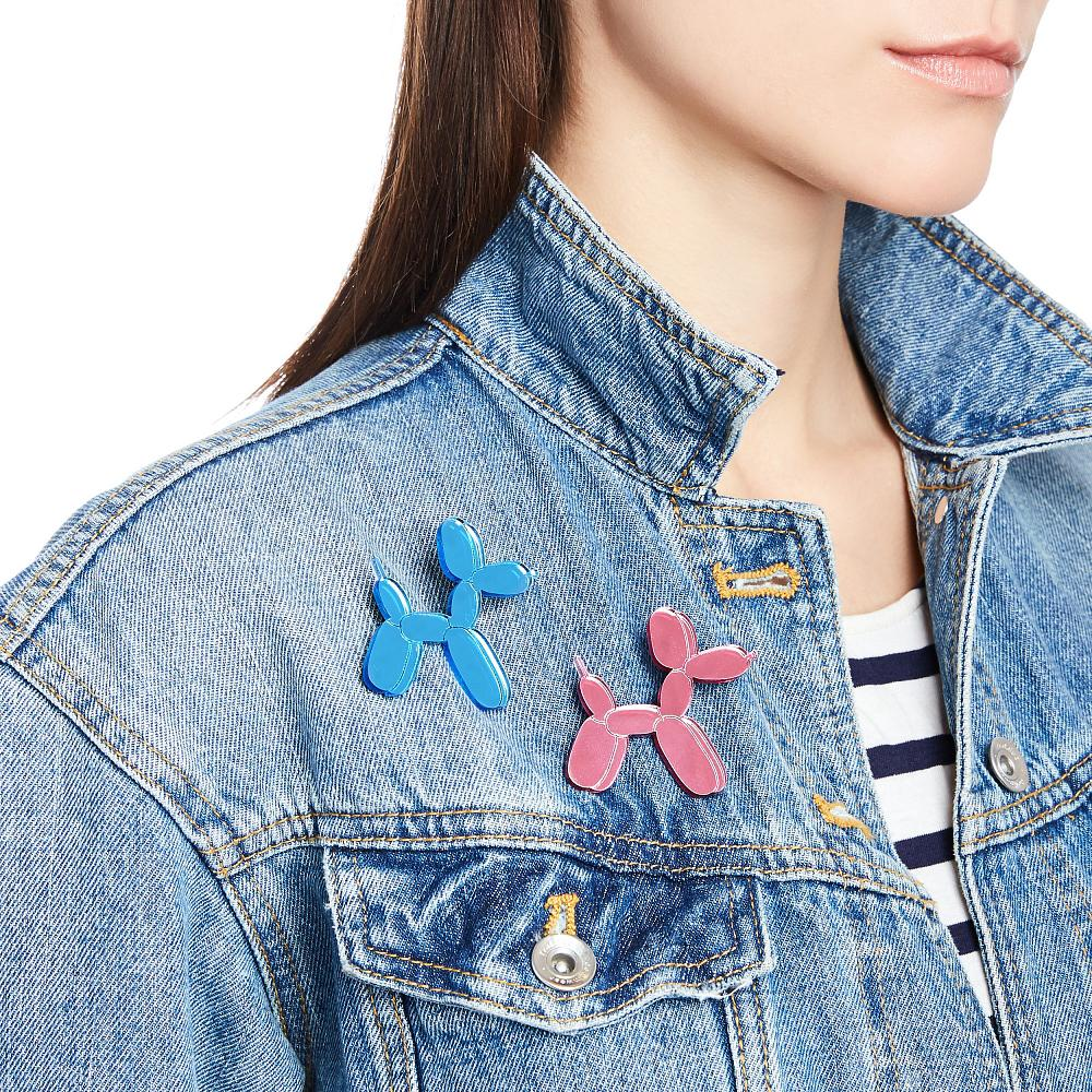 Balloon Dog Pin - Blue