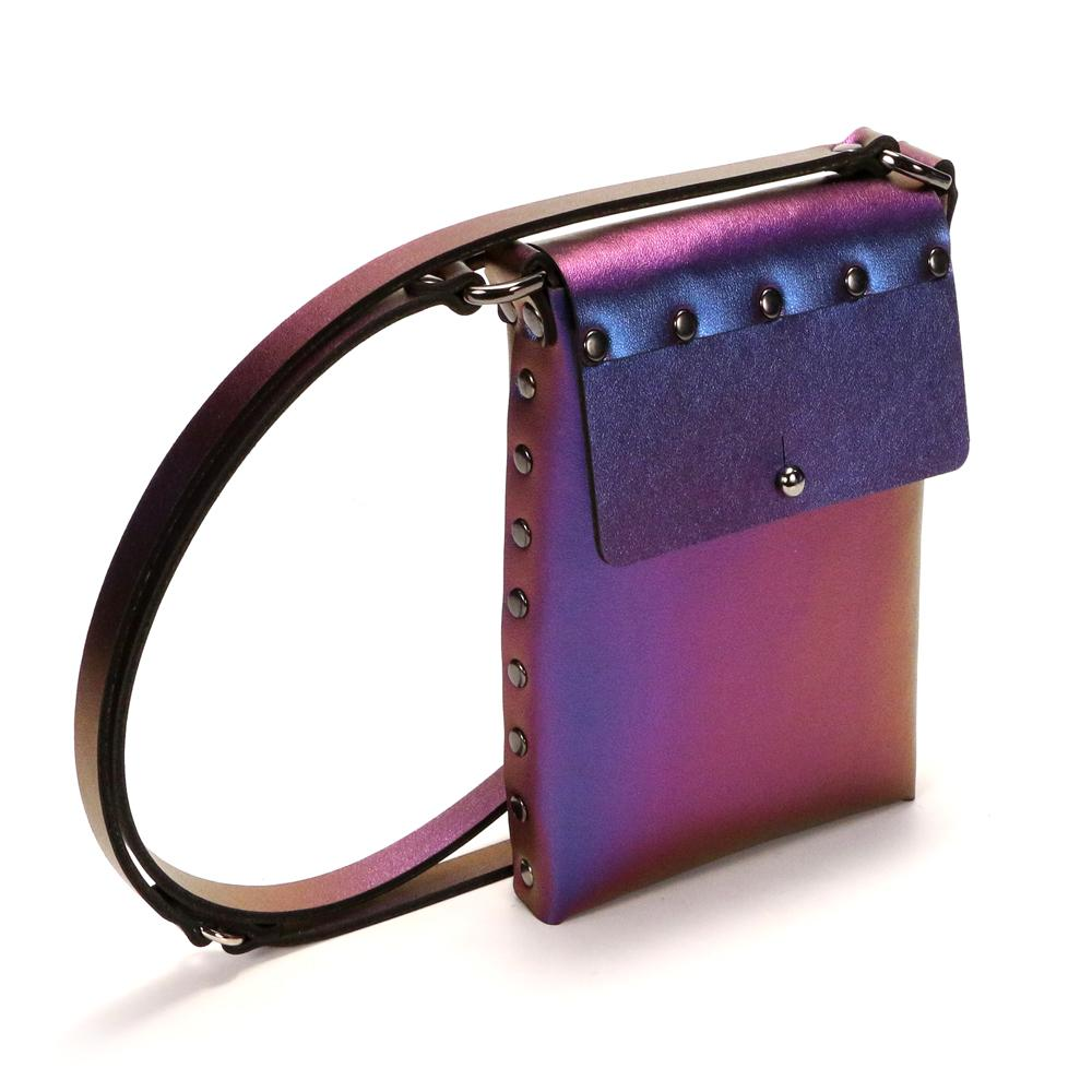 Iridescent Cobalt Mobile Bag