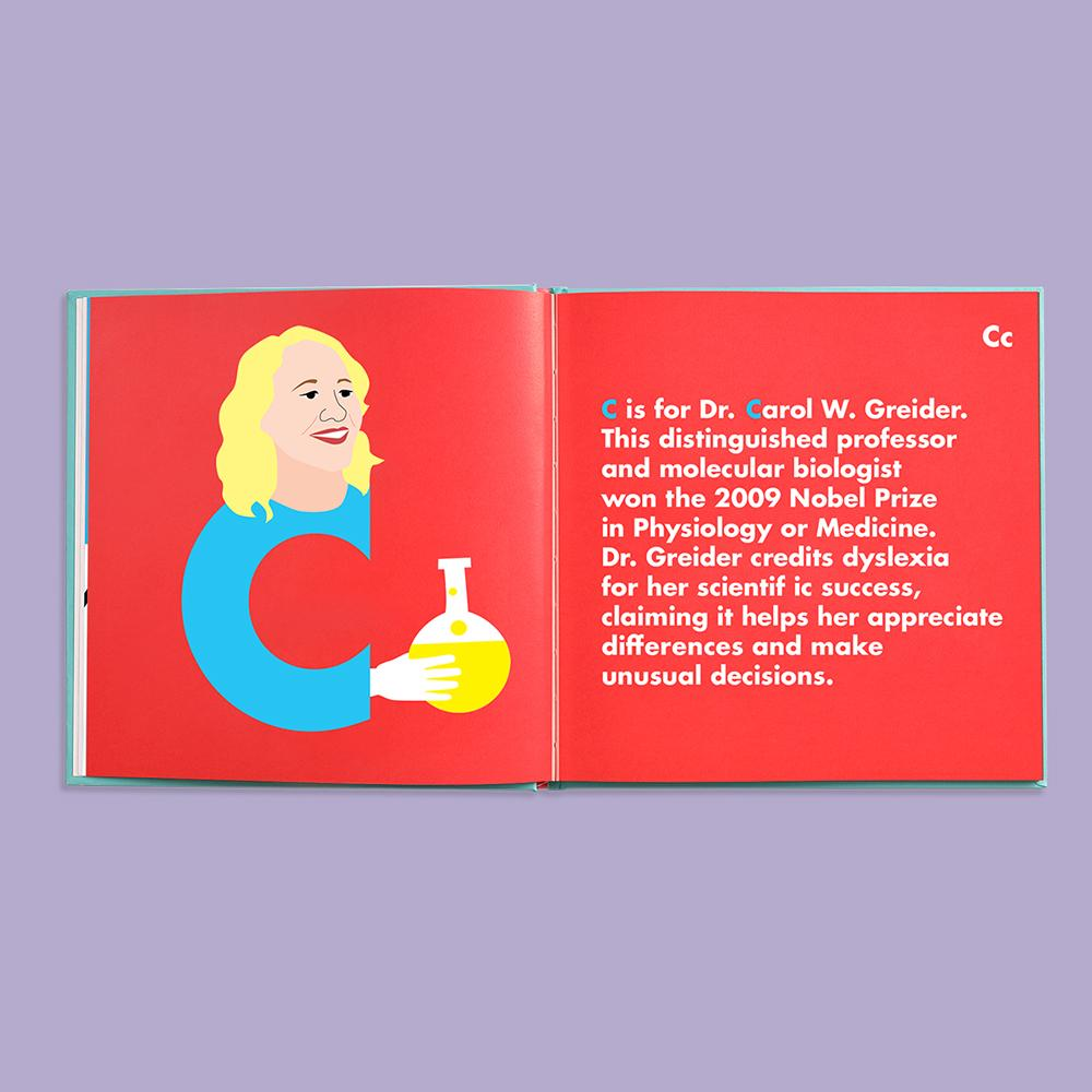 Dyslexic Legends Alphabet Book