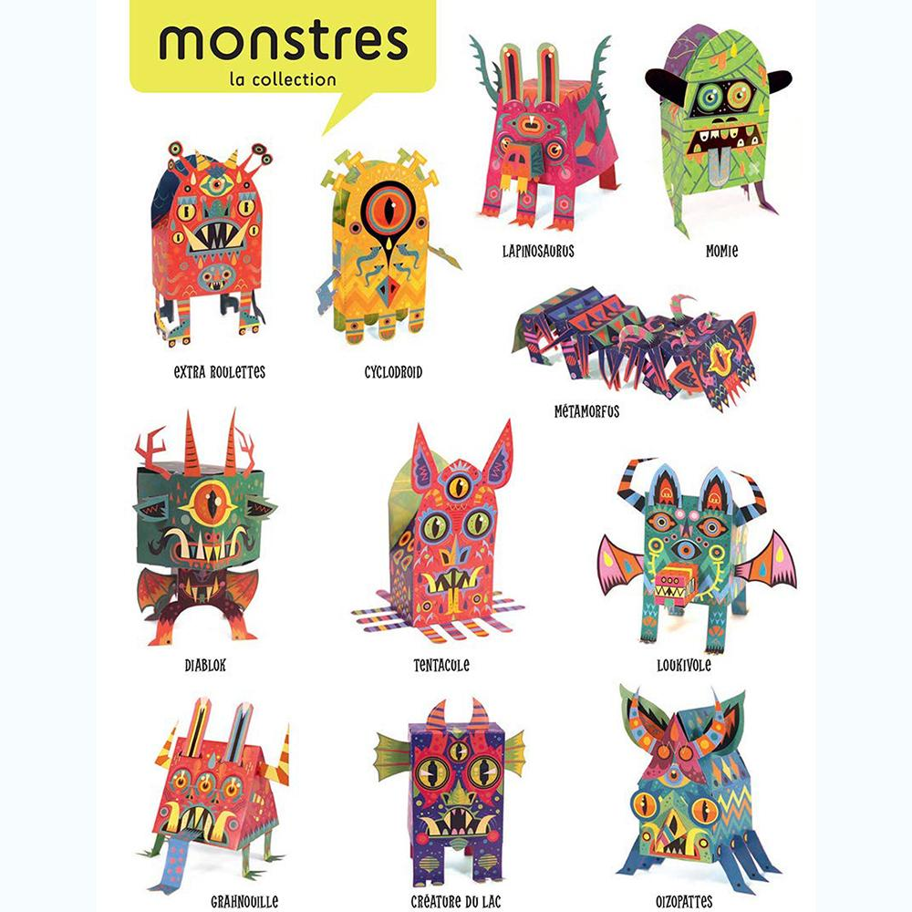 Paper Toys : Monsters