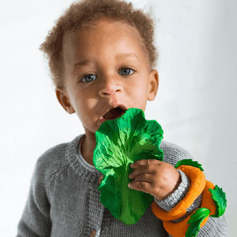 Kendall The Kale Teether Toy