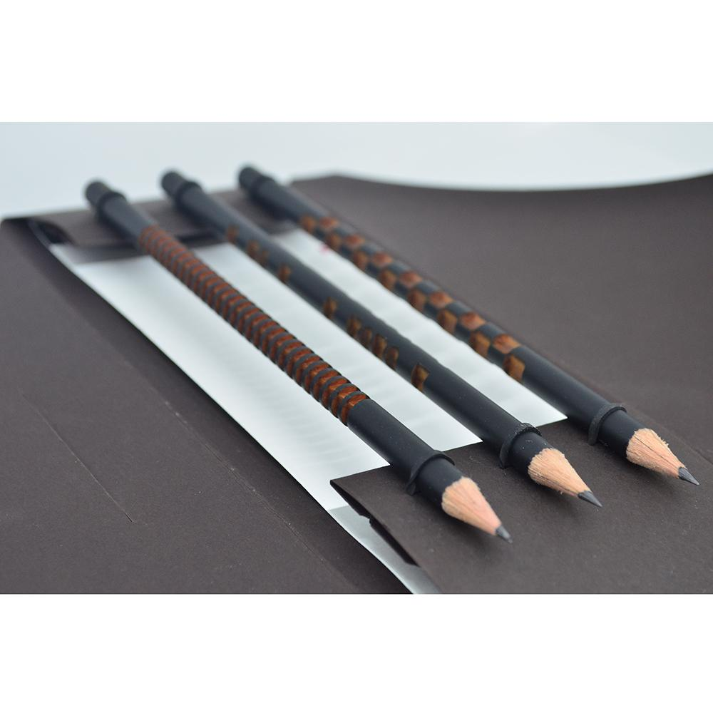 Ornamental Pencil Set Of 3