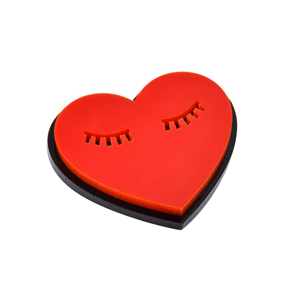 Sleeping Heart Pin